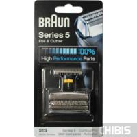 Сетка и режущий блок Braun 8000/Series 5 Activator,ContourPro,360 Complete,серебр. 51S(81253272)