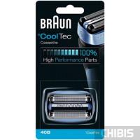Сетка Braun 40B CoolTec кассета в сборе (сетка и нож) 4210201076520 81397795