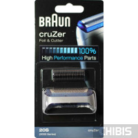 Сетка и режущий блок Braun 2000 Cruzer 20S (81253250)