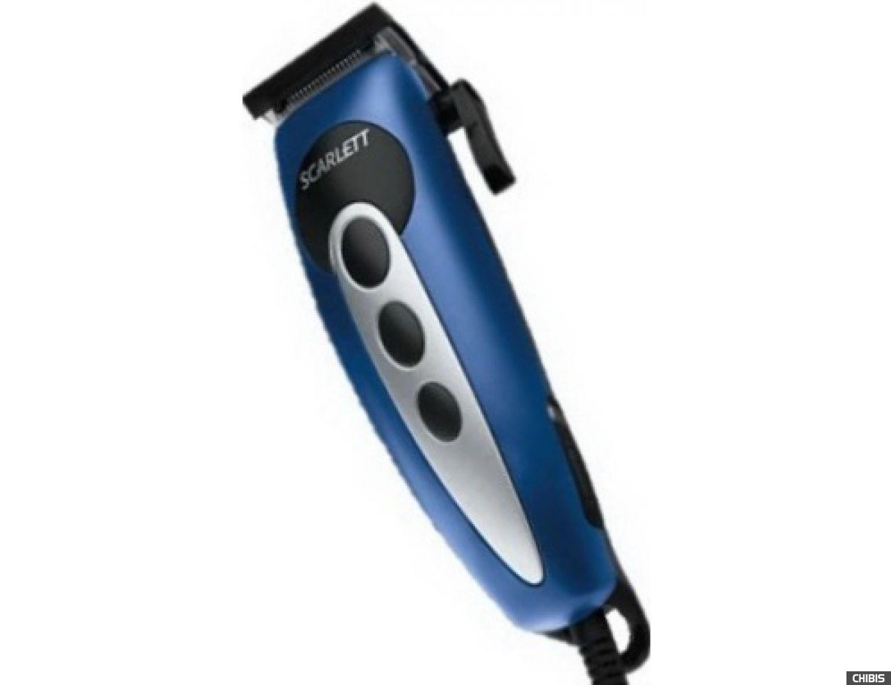 Машинка для стрижки волос Scarlett SC-1262 (синий)
