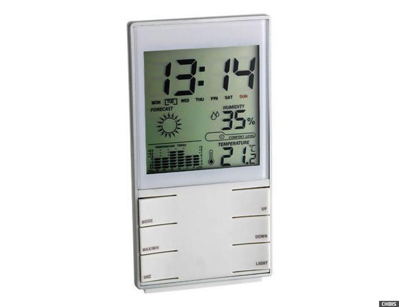 Термогигрометр TFA (35110202)  белый