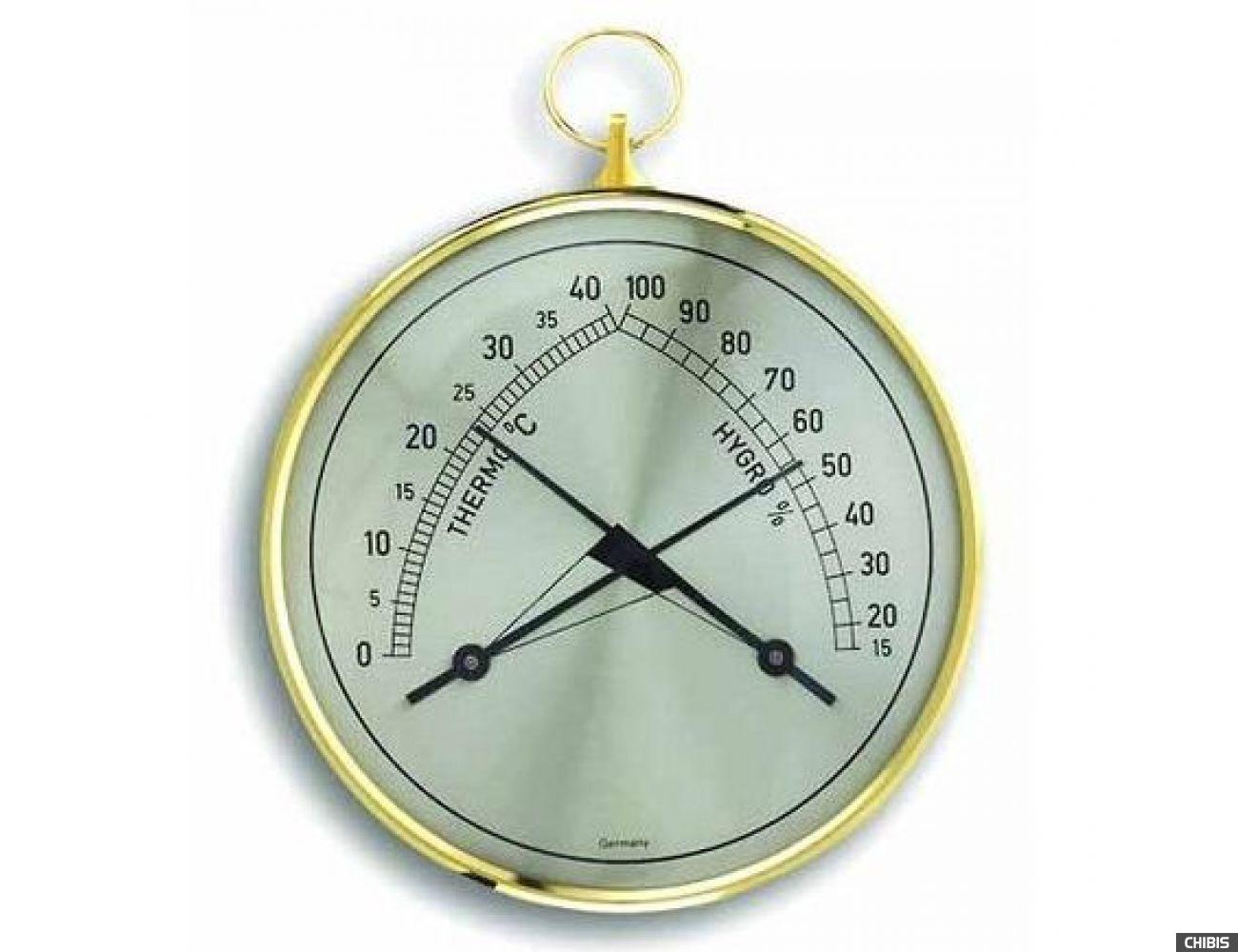 """Термогигрометр TFA """"Klimatherm"""" (452005), пластик, d=100 мм"""