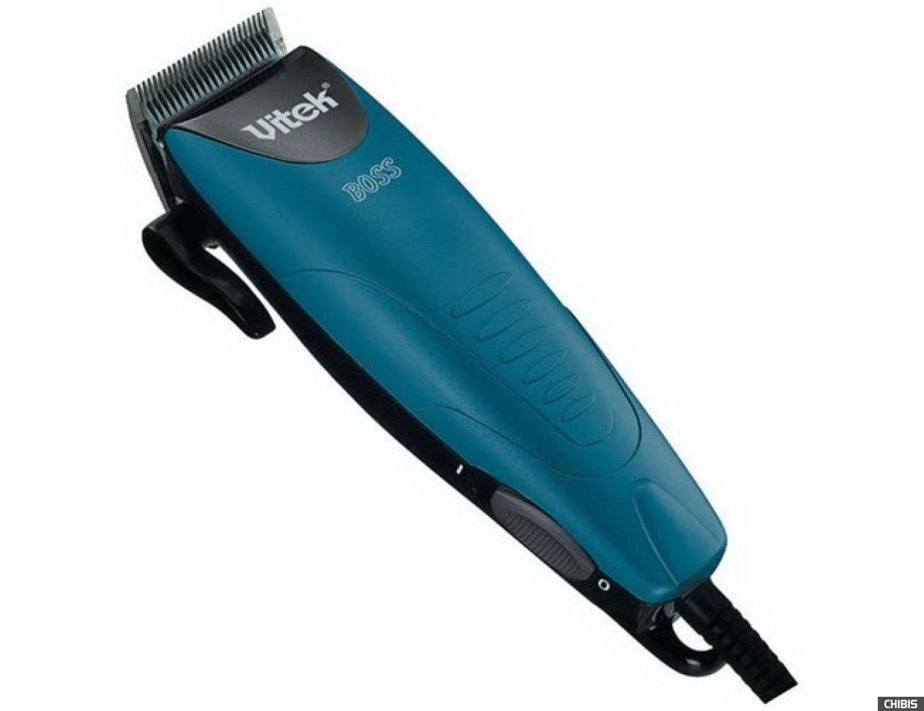Машинка для стрижки волос Vitek VT-1351 (голубой)