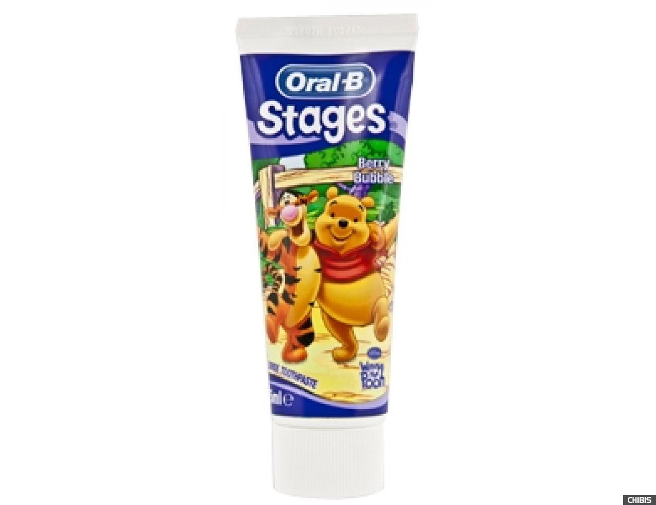 Зубная паста для детей Oral-B Stages Winni 75мл 3014260278465
