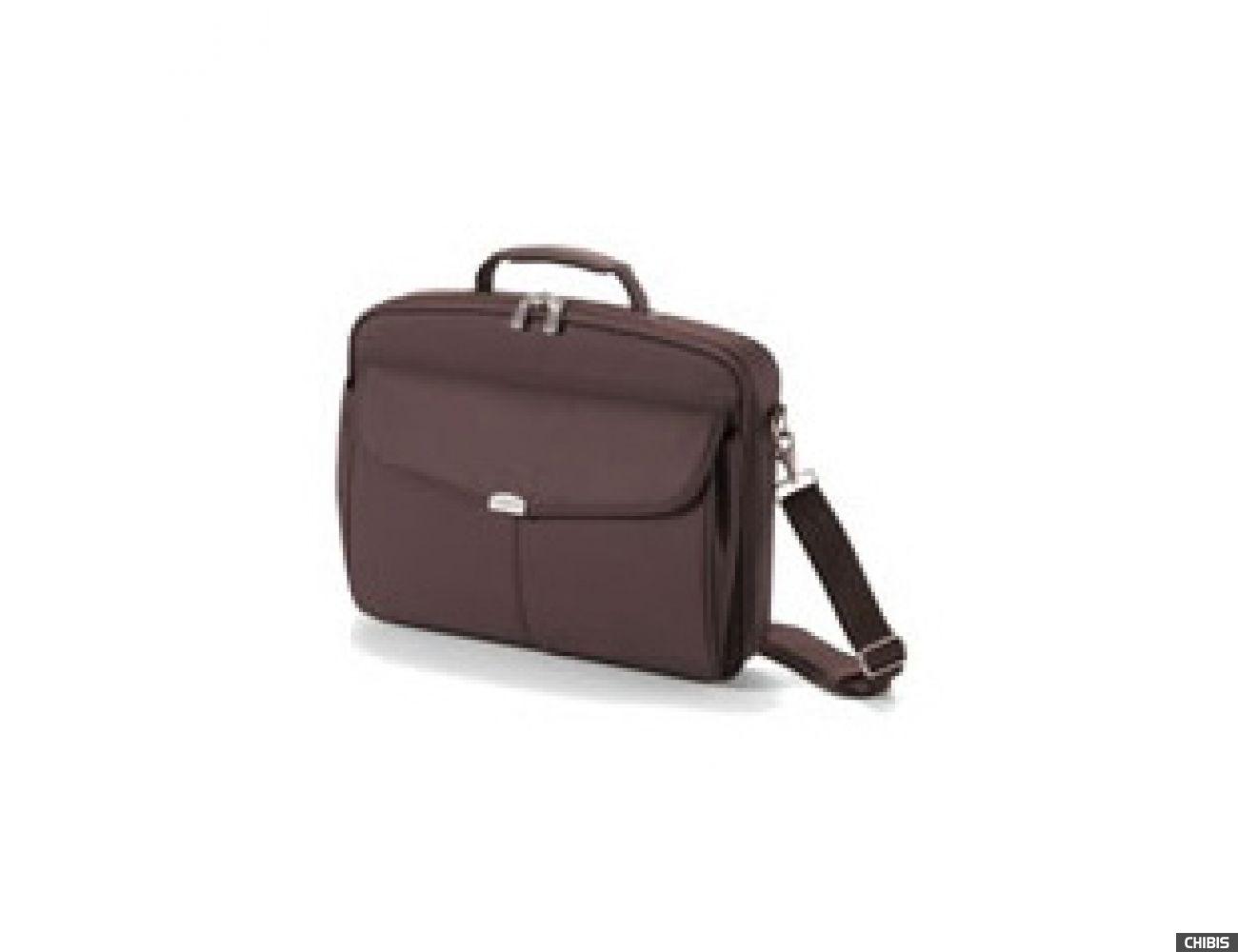 "Сумка для ноутбука Dicota 14""/15,4"" Multi Compact, коричневая Полиэстр (N/10359/P)"