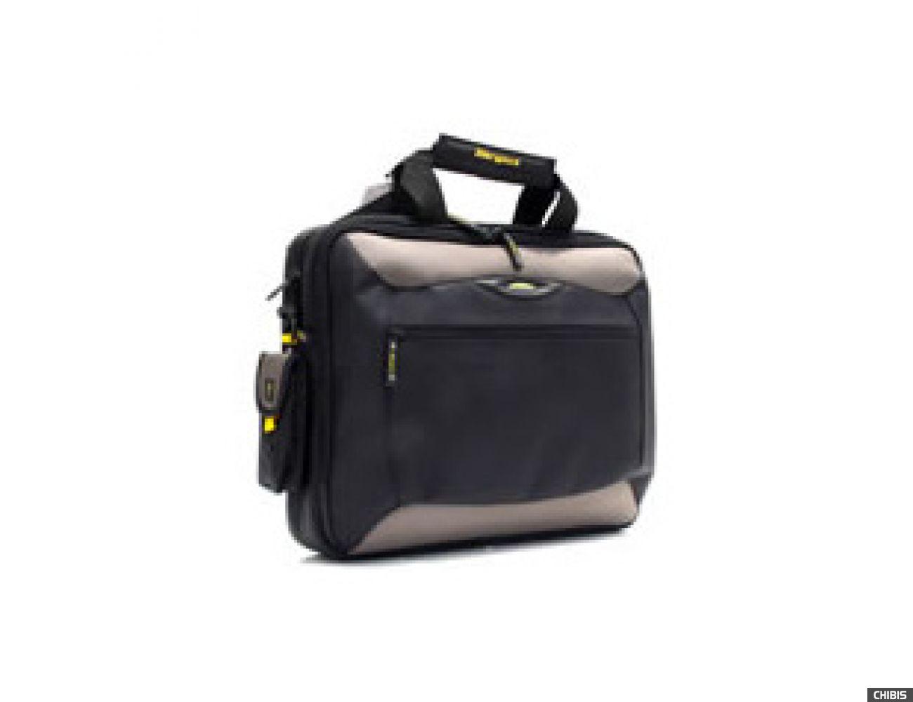 """Сумка для ноутбука Targus 15""""/15,4"""" Metro Slim Notebook Case - Black&Silver (TCG300)"""