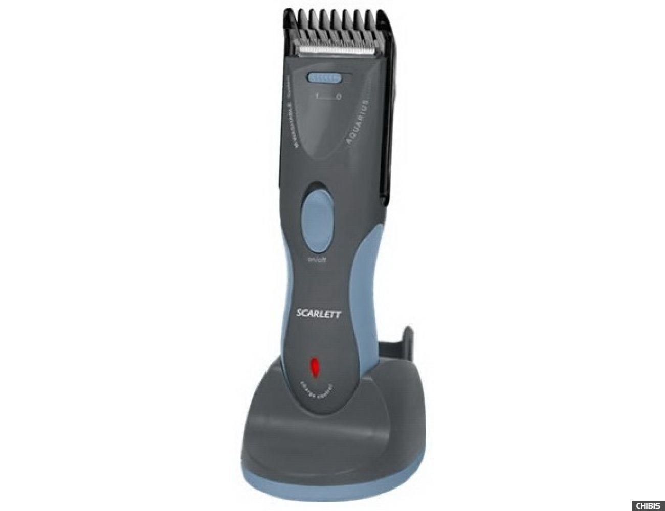 Машинка для стрижки волос Scarlett SC-262 (серый)