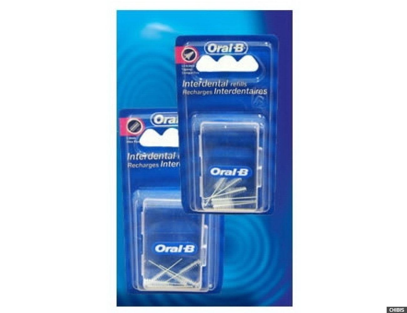 Сменная насадка Oral-B для межзубной щетки Interdental Refills Цилиндр 6 шт (3014260782870)