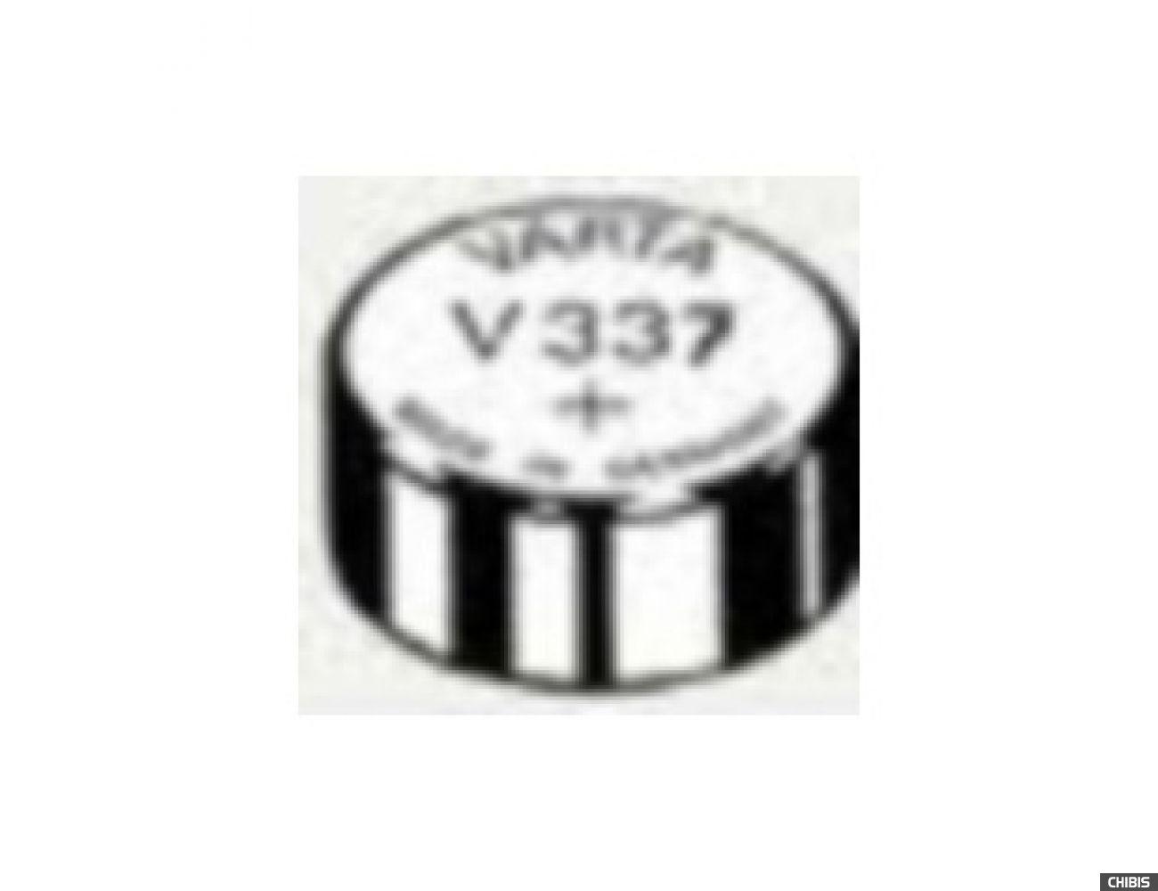 Батарейка Varta V337 (SR416, 1.55V, Оксид Серебра) 00337101111