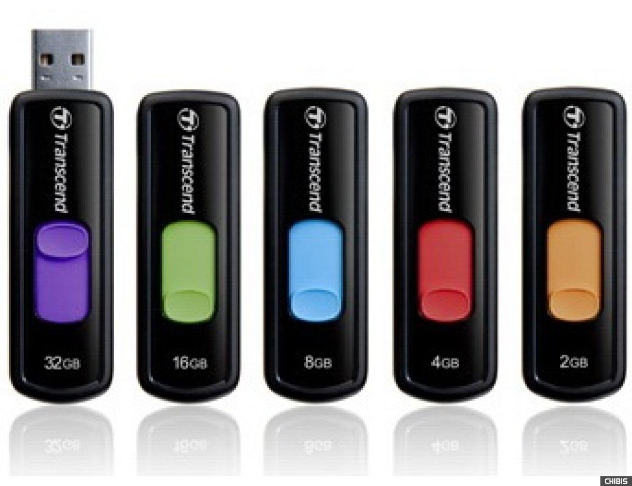 Флеш накопитель USB TRANSCEND JetFlash 500 2GB