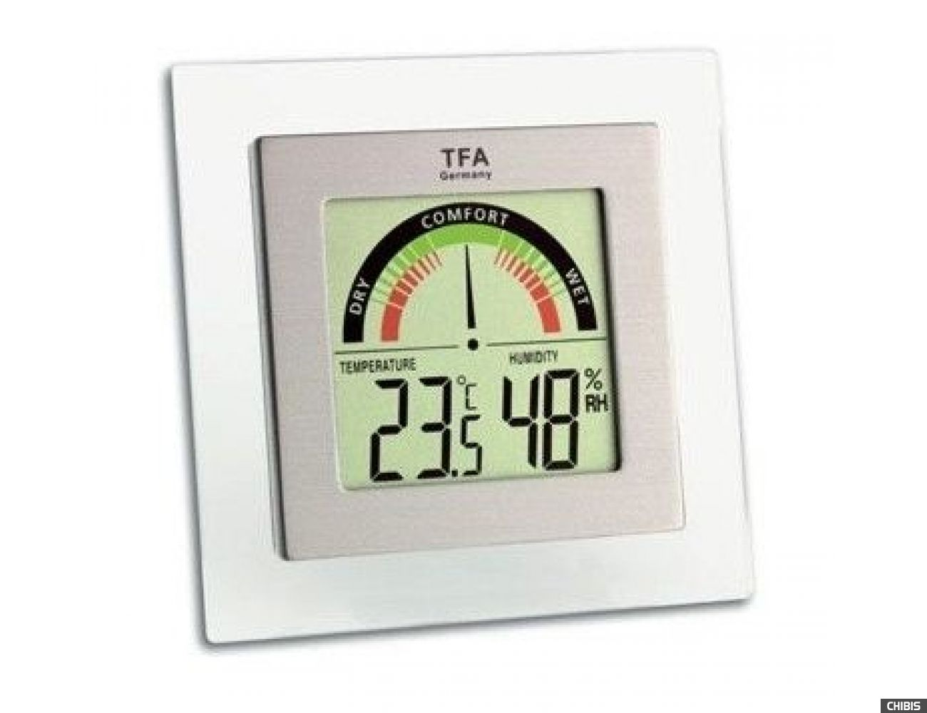 Термогигрометр TFA (305023), 87х88х18 мм.