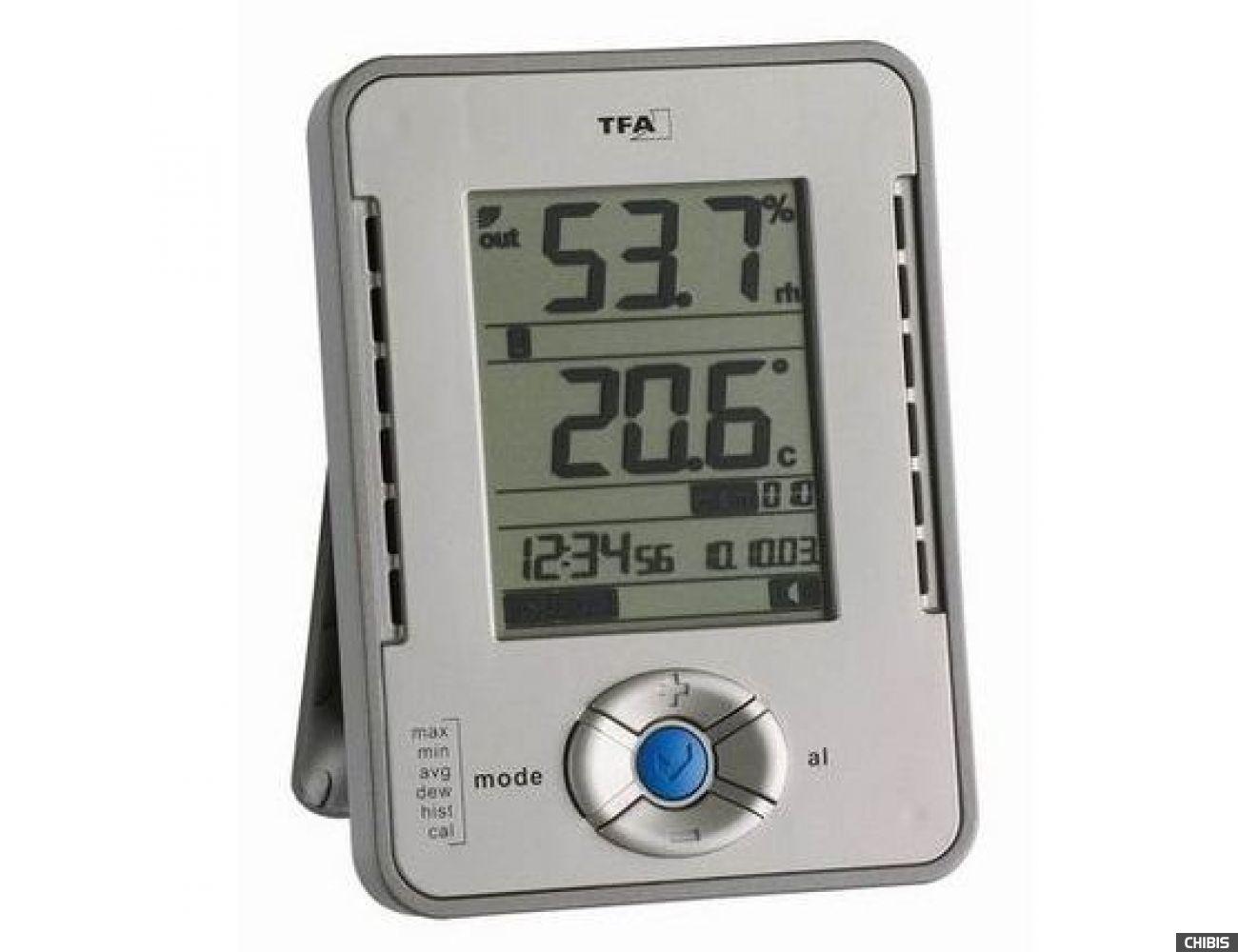 Термогигрометр TFA (303015), 127х94х30 мм