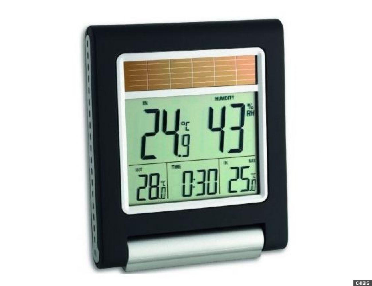 "Термогигрометр TFA ""Solar"" (303042.IT), 137х118х28 мм"