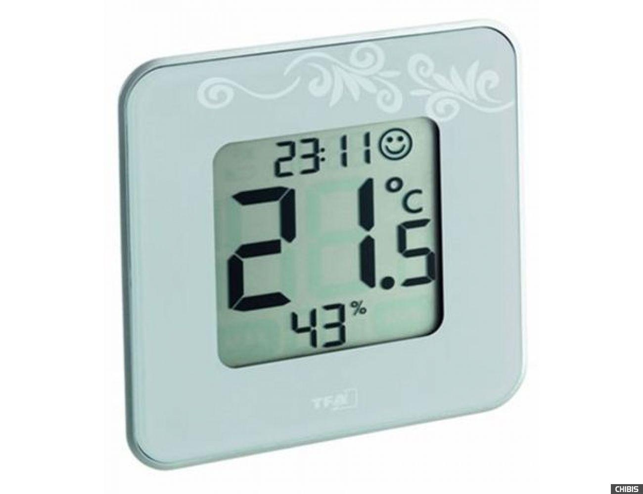 "Термогигрометр TFA ""Style"" (30502102) белая"