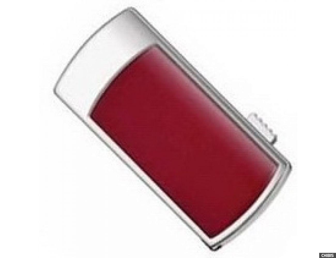 Флеш накопитель USB TRANSCEND JetFlash V95D 8GB (c красной вставкой)