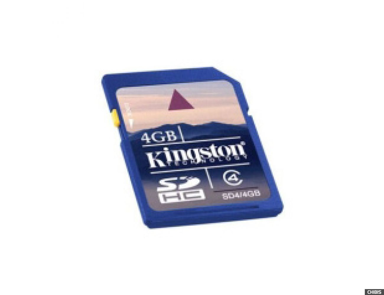 Карта памяти Kingston Secure Digital High-Capacity (SDHC) Class 4 4Gb