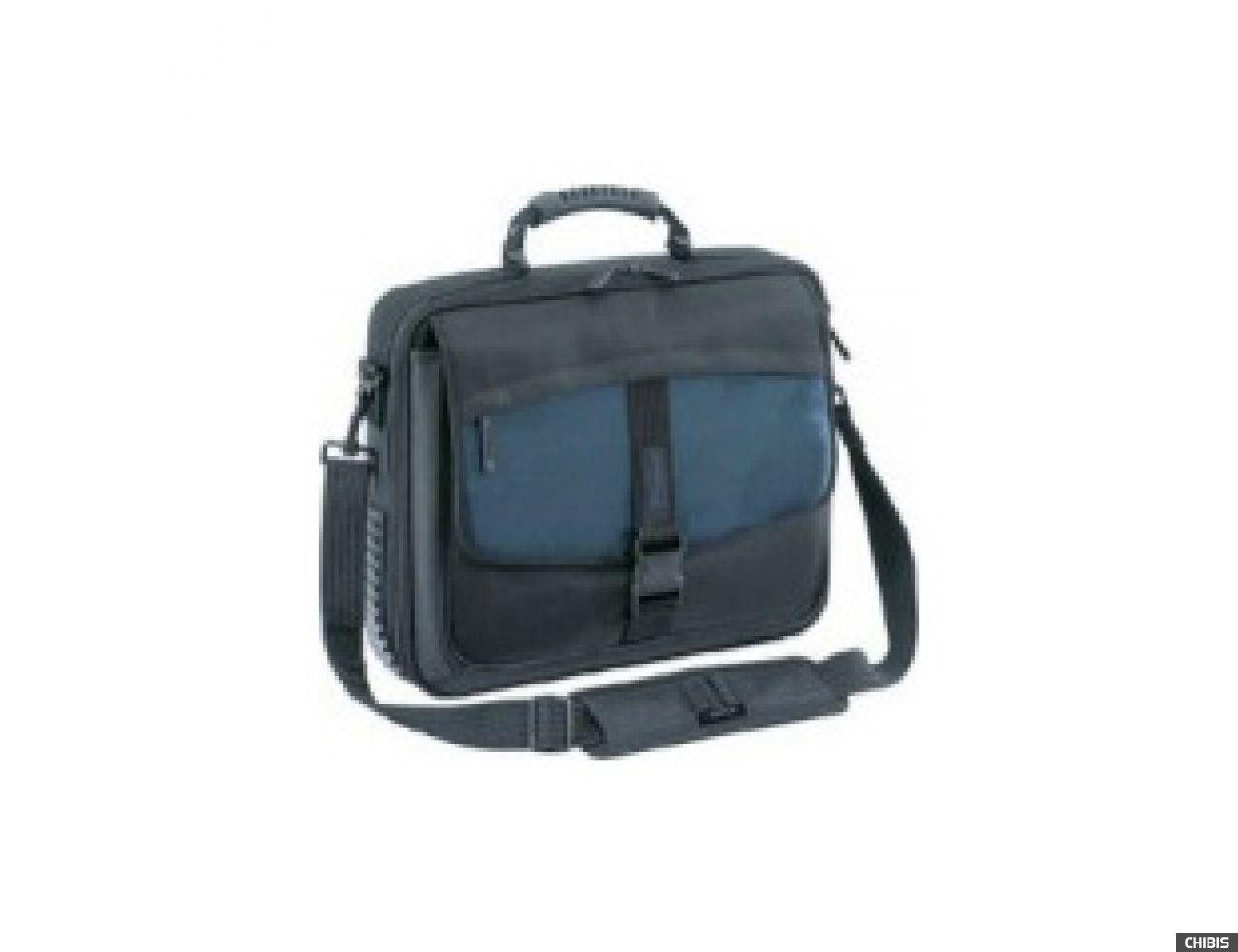 """Сумка для ноутбука TARGUS 15"""" синий / чёрный нейлон (CBT300)"""