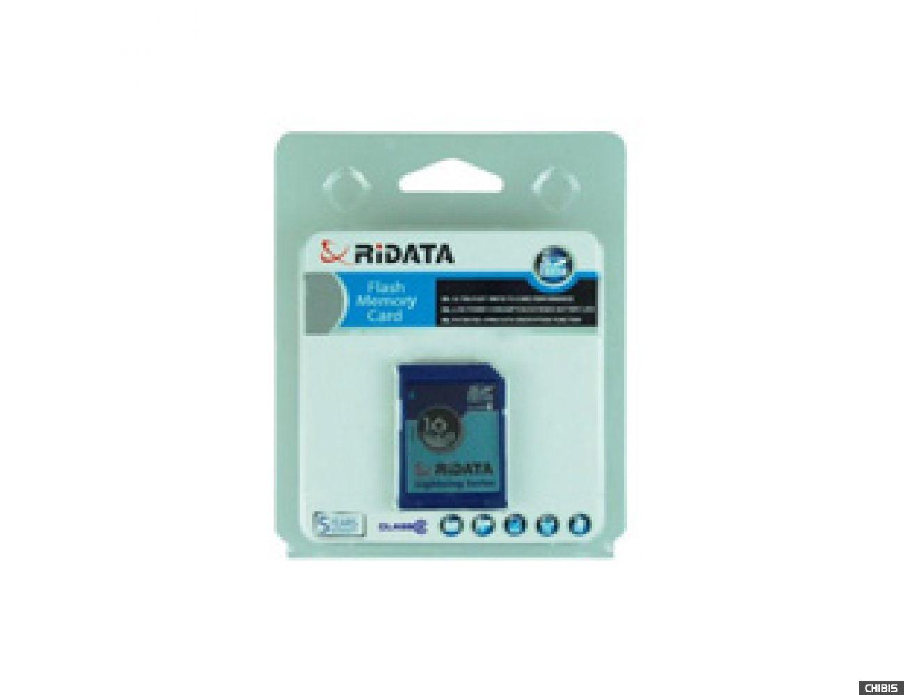 Карта памяти RIDATA SDHC 16Gb (Class 2)