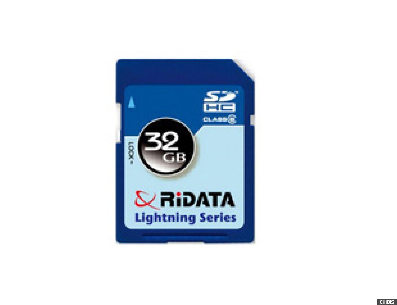Карта памяти RIDATA SDHC 32Gb (Class 6)