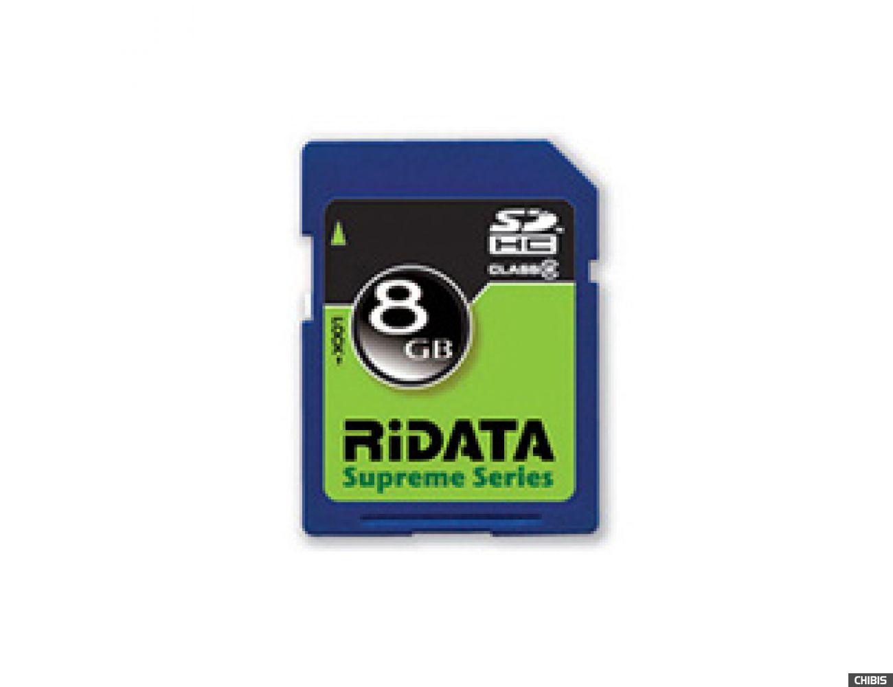 Карта памяти RIDATA SDHC 8Gb (Class 2)