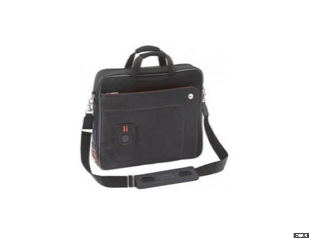 """Сумка для ноутбука TARGUS 15"""" чёрный / оранж. нейлон (TST004EU-10)"""