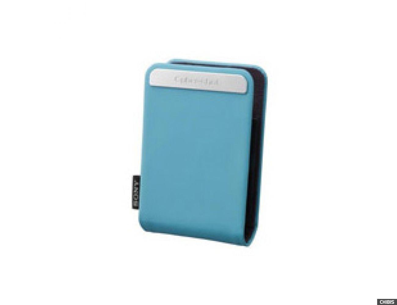 Чехол Sony DSC-W, S, T серии, мягкий, цвет Blue (LCS-TWGL)