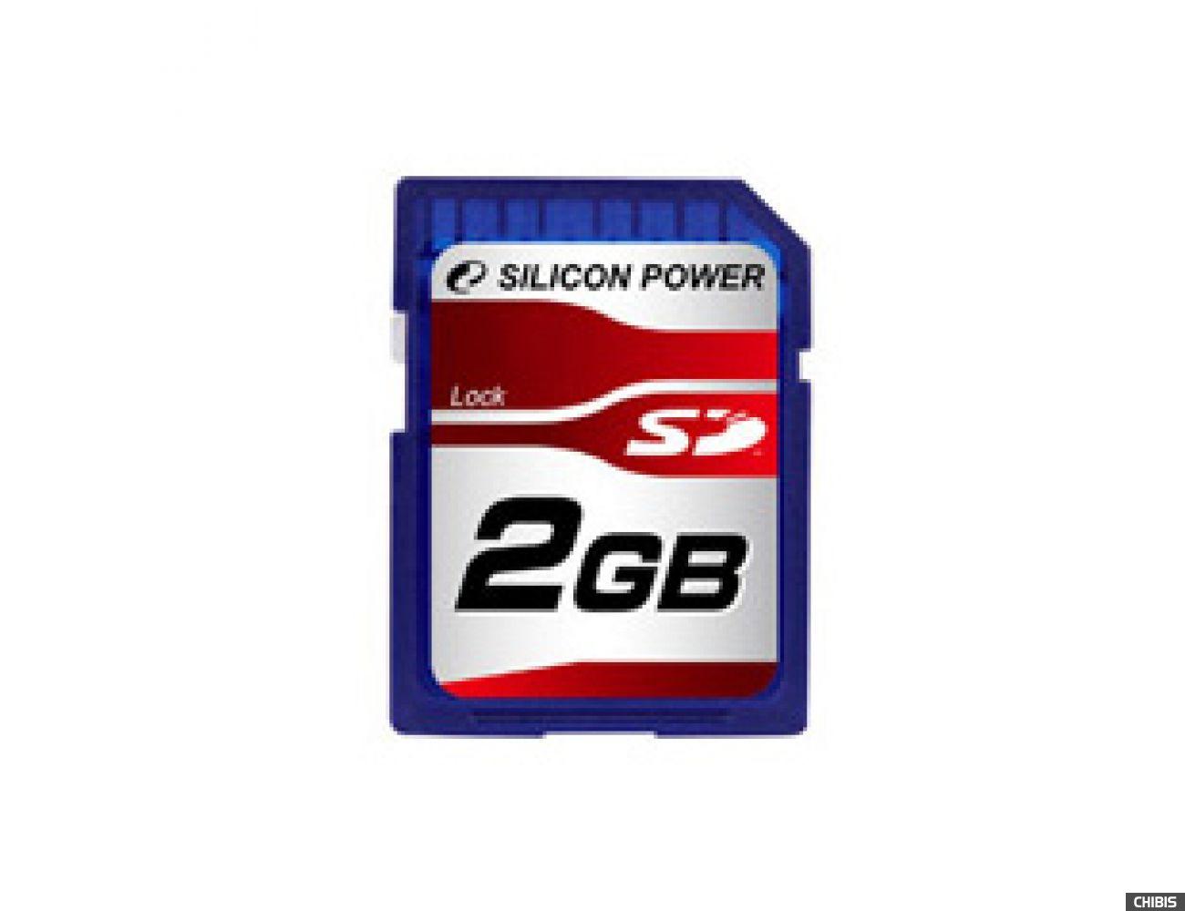 Карта памяти SILICON POWER SD 2GB 80Х