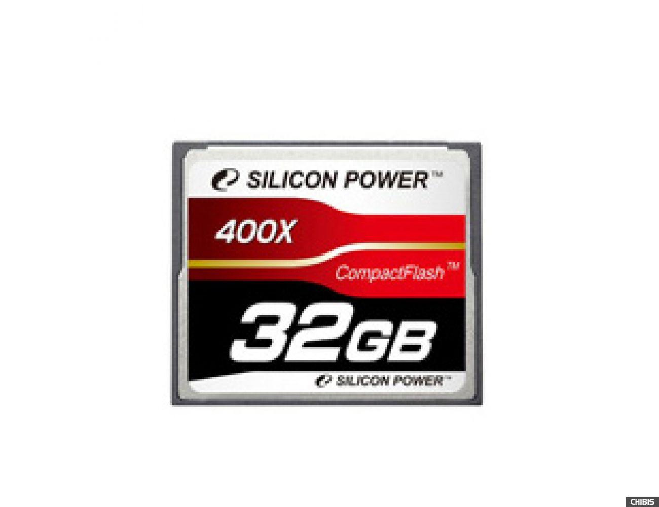 Карта памяти SILICON POWER Compact Flash 32Gb 400x
