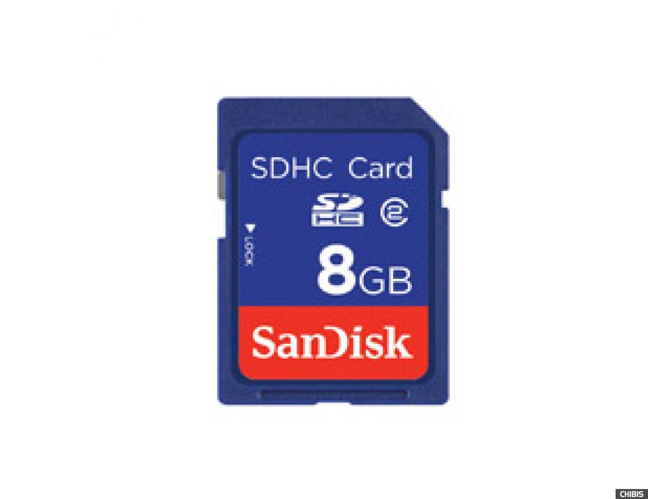 Карта памяти SanDisk SDHC 8Gb