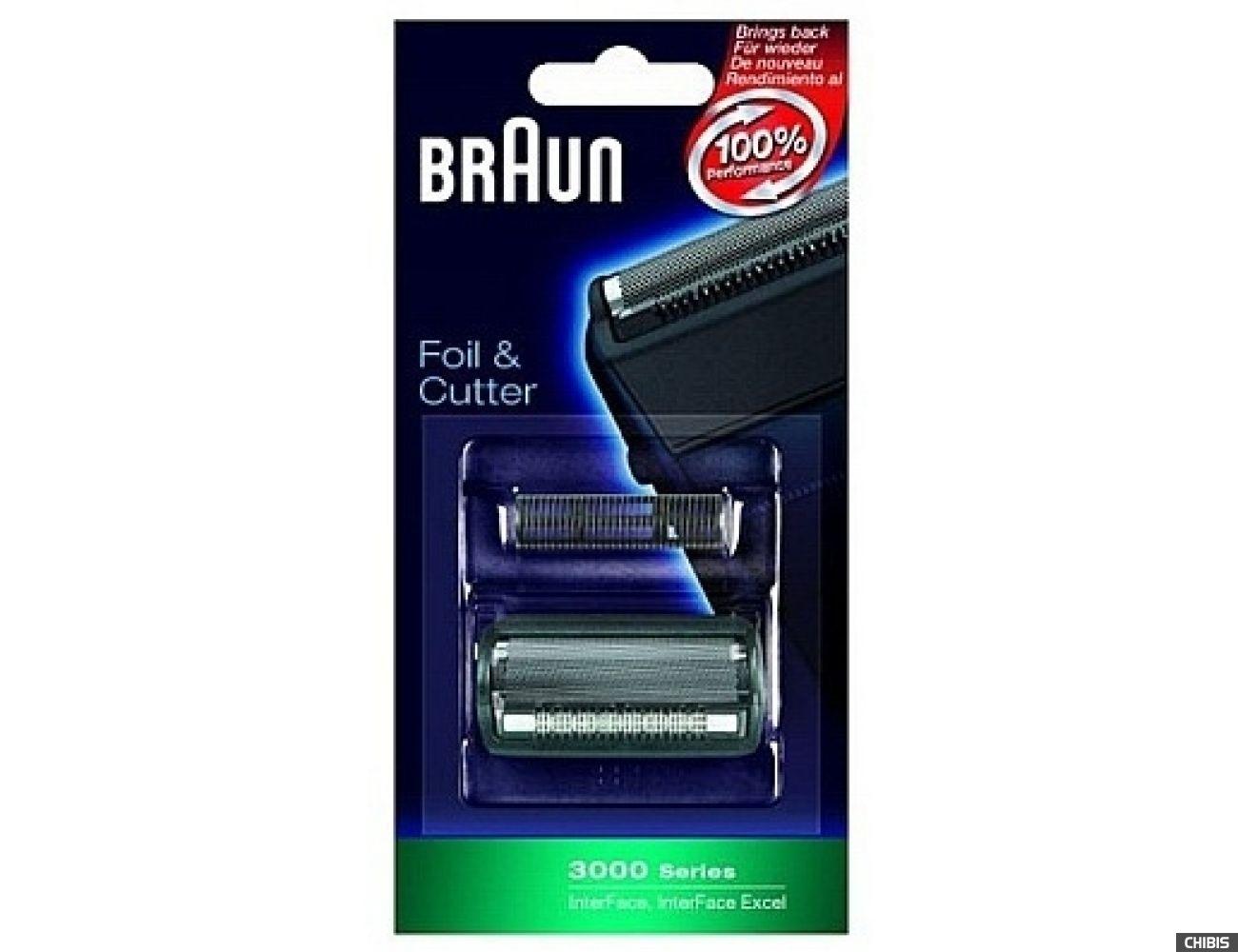 Сетка и режущий блок Braun 3000 Interface/Interface Excel (5628763)