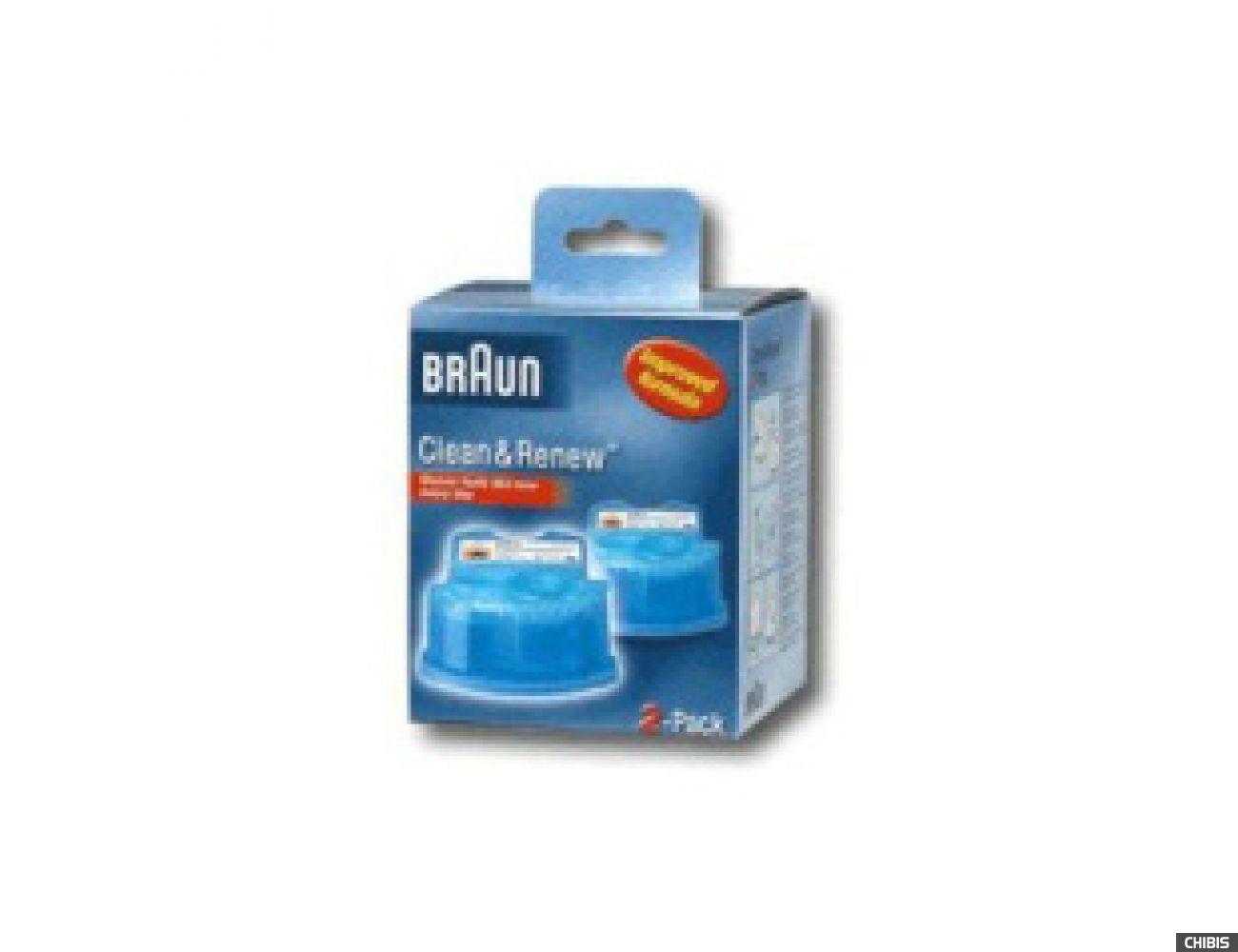 Картридж с чистящей жидкостью Braun CCR2 Clean&Renew (тип 5331) 4210201382669
