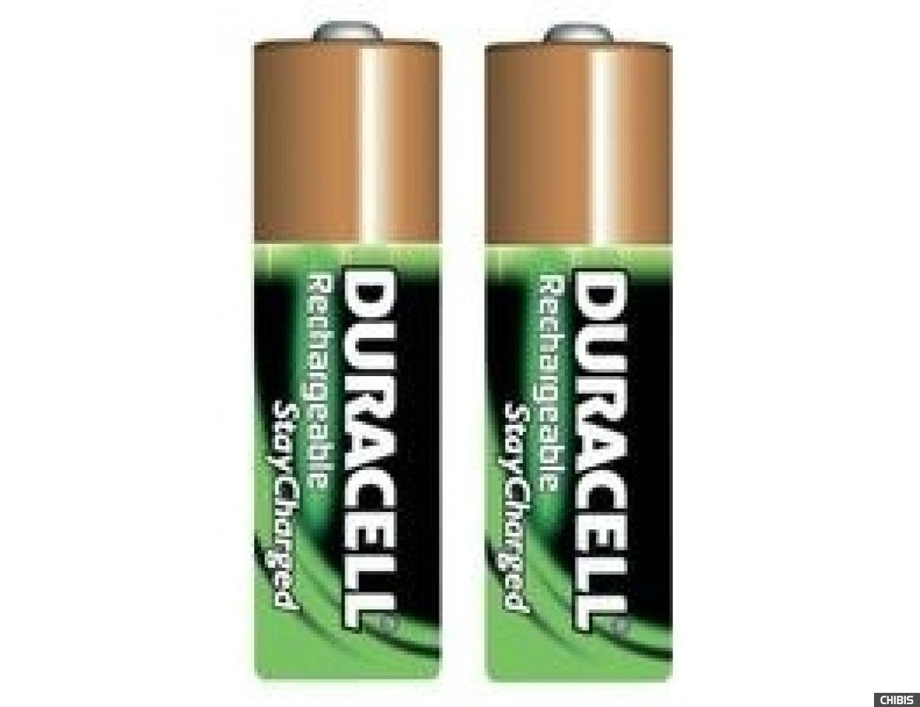 Аккумуляторные батарейки АА Duracell 1950 mAh (HR6, Ni-Mh, 1.2V) 2/2 шт. 5000394001206
