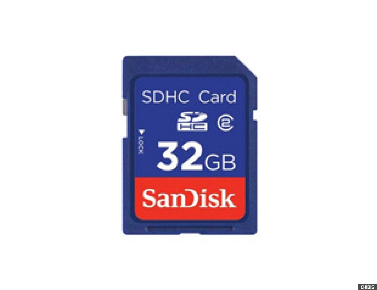 Карта памяти SanDisk SDHC 32Gb