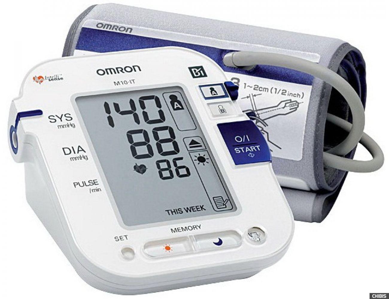 Тонометр Omron M10 IT с удлиненной манжетой Comfort Cuff