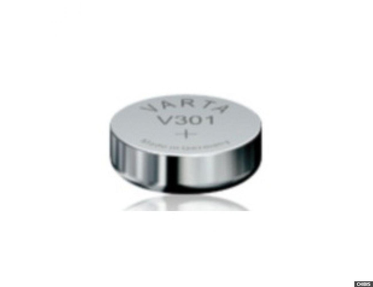 Батарейка Varta V301 (SR43 115mAh 1.55V оксид Серебра) 00301101111