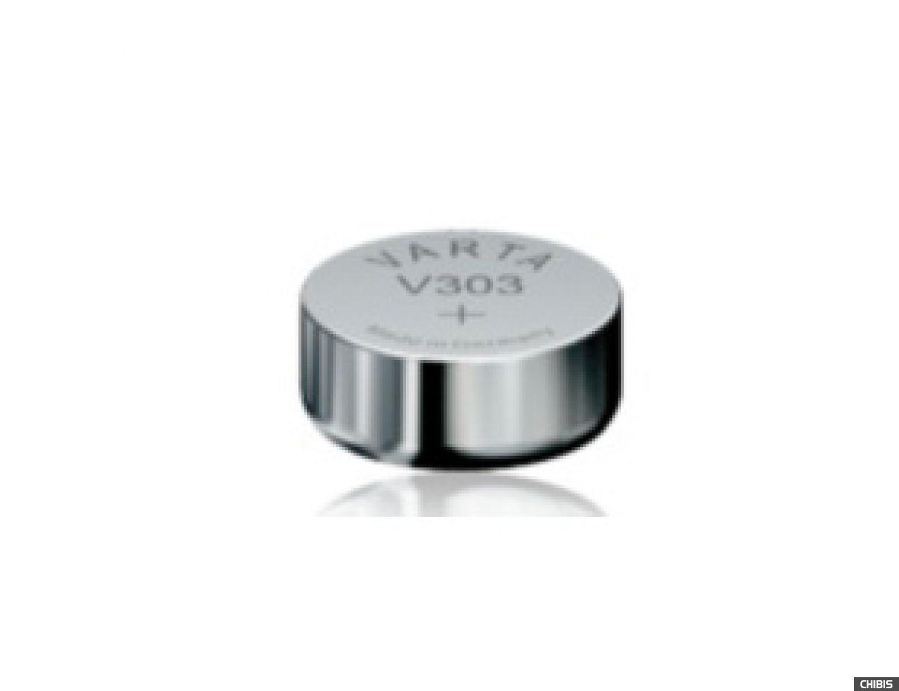 Батарейка Varta V303 (SR44, 170mAh, 1.55V, Оксид Серебра) 00303101111