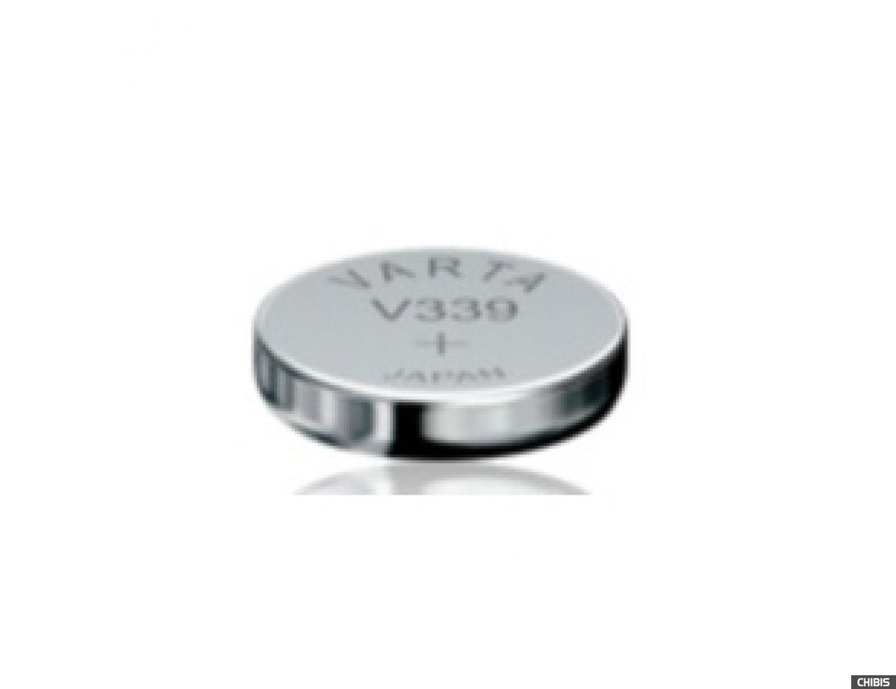 Батарейка Varta V339 (11mAh, 1.55V, Оксид Серебра) 00339101111