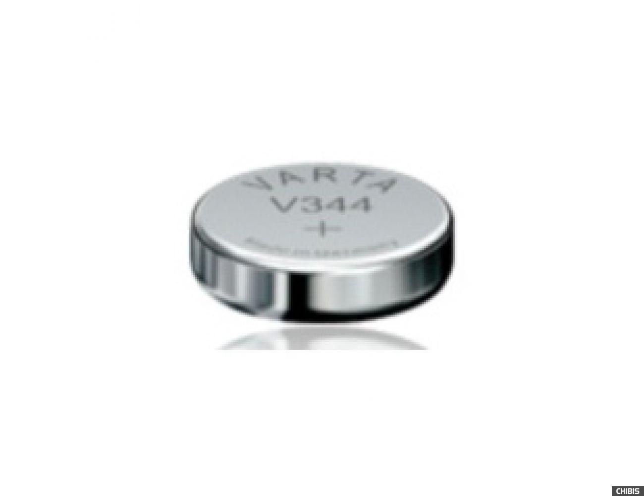 Батарейка Varta V344 (SR42, 100mAh, 1.55V, Оксид Серебра) 00344101111
