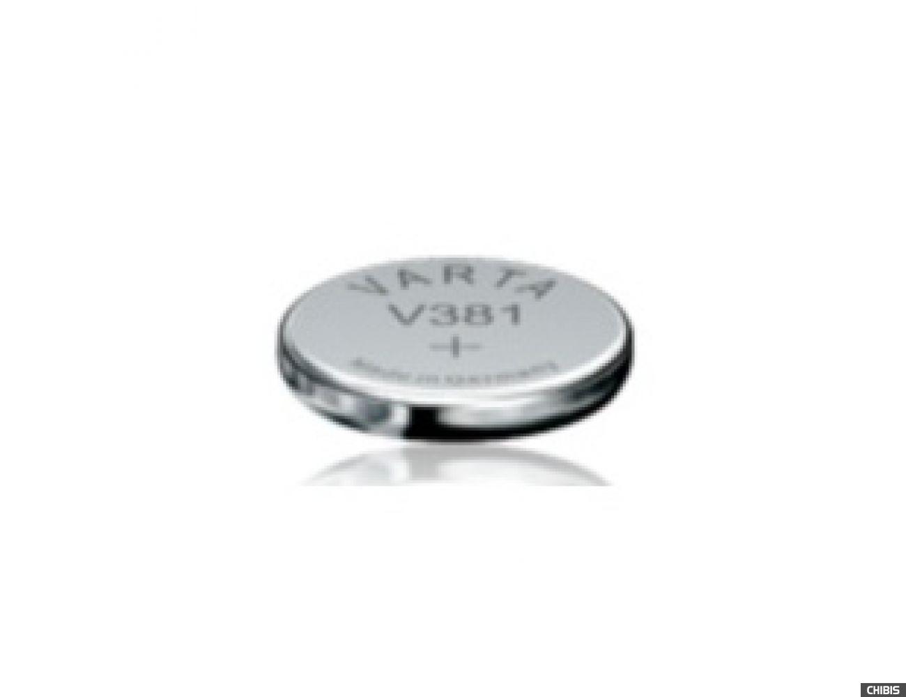 Батарейка Varta V381 (SR55, 45mAh, 1.55V, Оксид Серебра) 00381101111