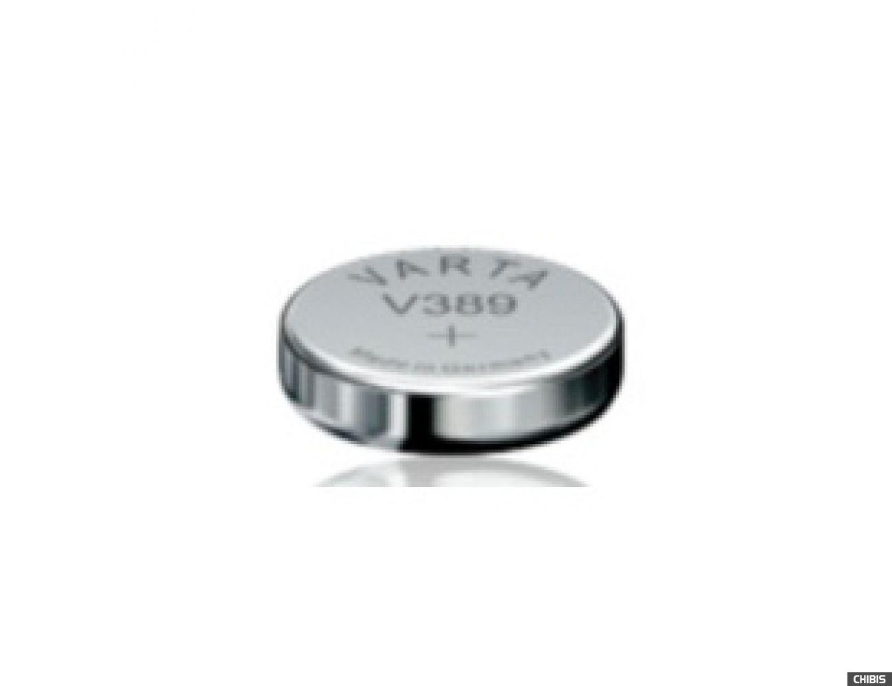Батарейка Varta V389 (SR54, 85mAh, 1.55V, Оксид Серебра) 00389101111