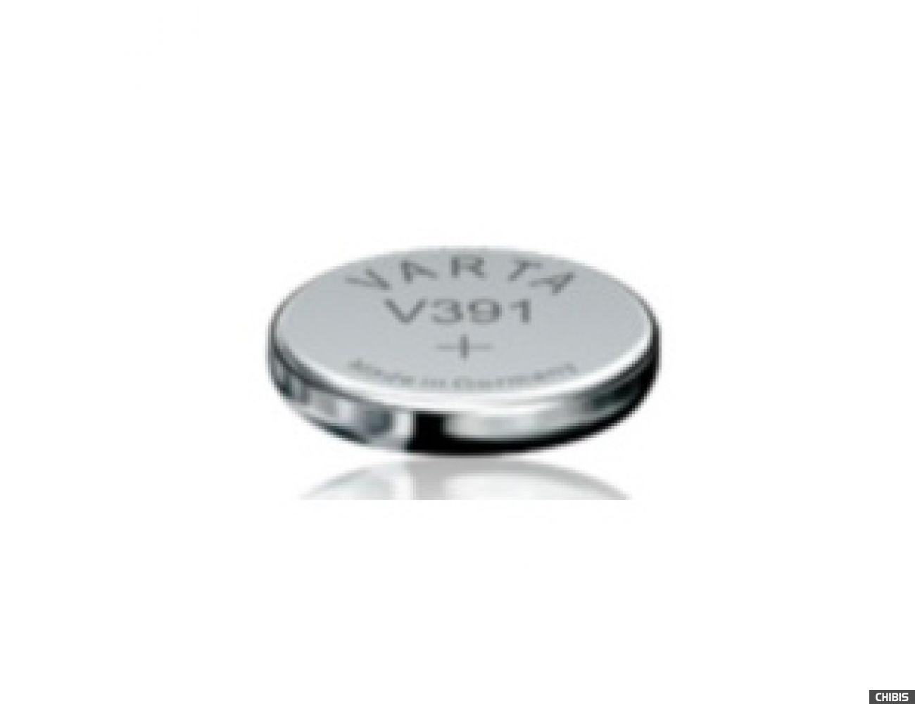 Батарейка Varta V391 (SR55, 40mAh, 1.55V, Оксид Серебра) 00391101111