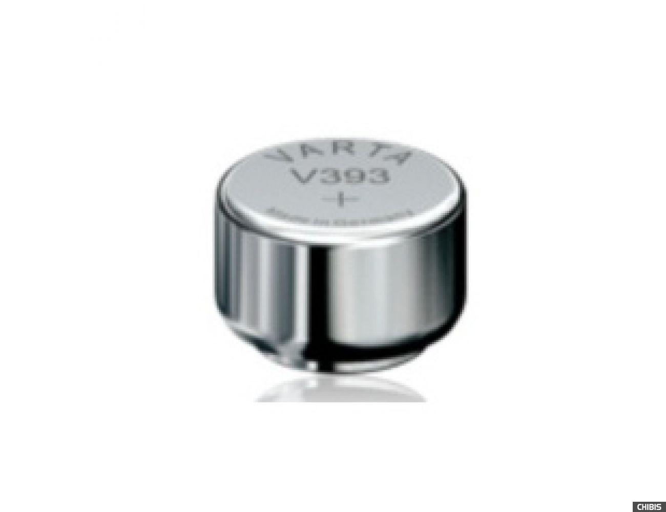 Батарейка Varta V393 (SR48, 65mAh, 1.55V, Оксид Серебра) 00393101111
