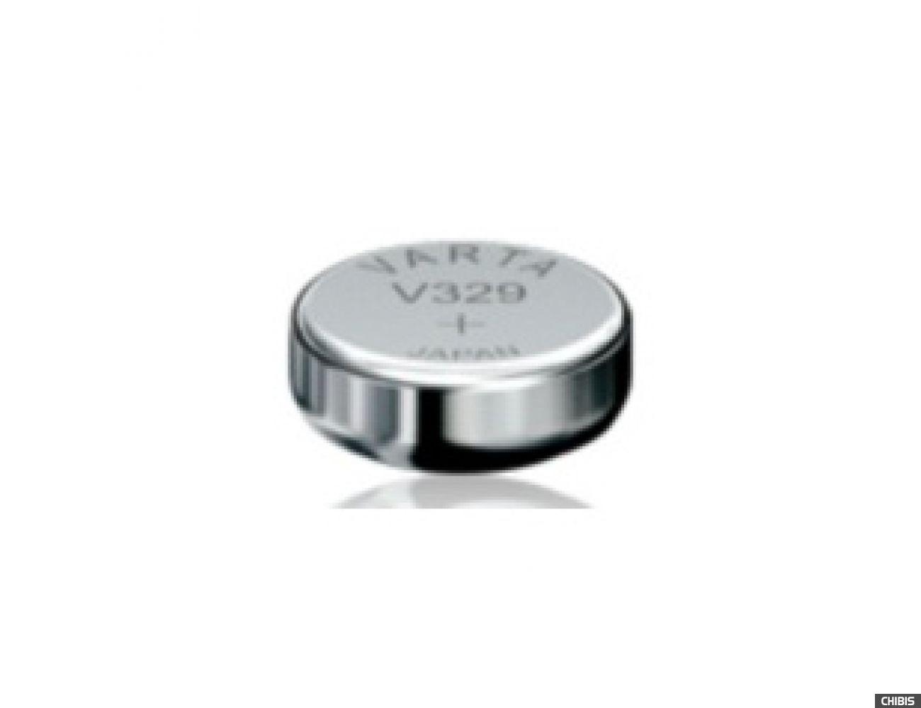 Батарейка Varta V329 (36 mAh, 1,55 V) 329101111