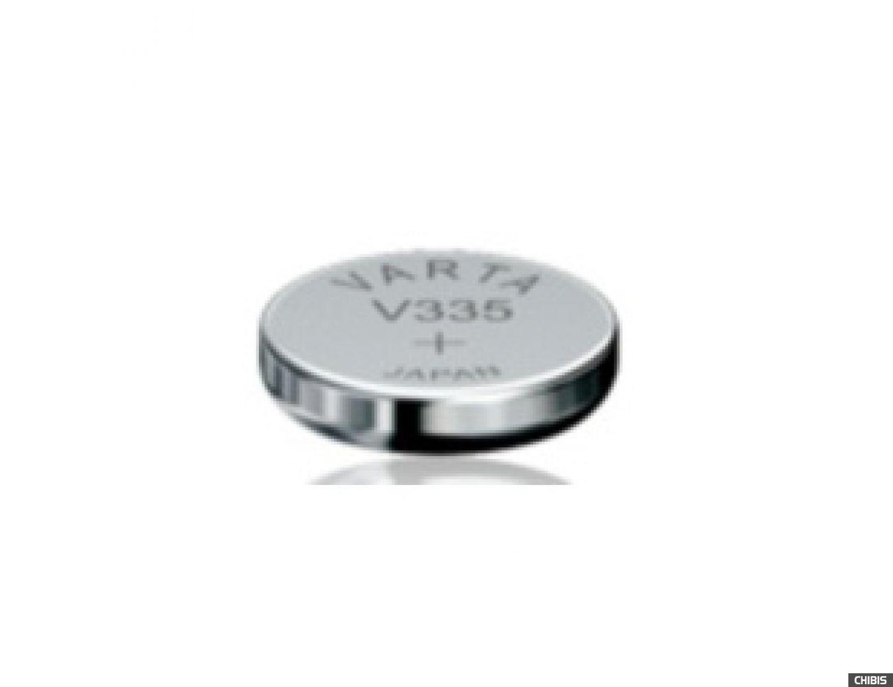 Батарейка Varta V335 (5 mAh, 1,55 V) 335101111