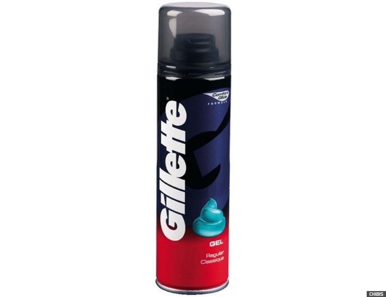 Гель для бритья Gillette Regular 200 мл.