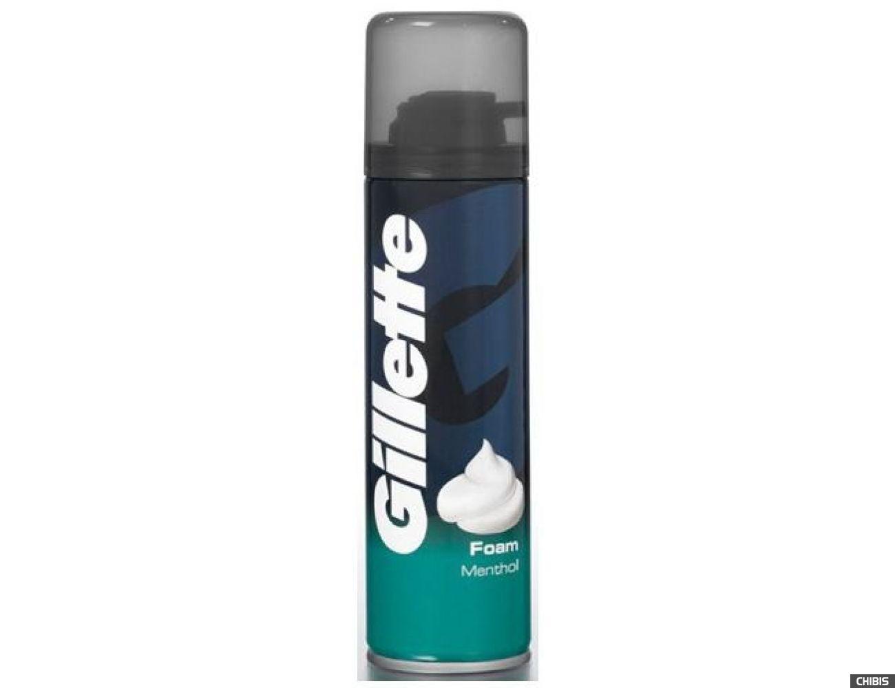 Gillette пена для бритья Menthol 200 мл. (3014260228866/84857319)