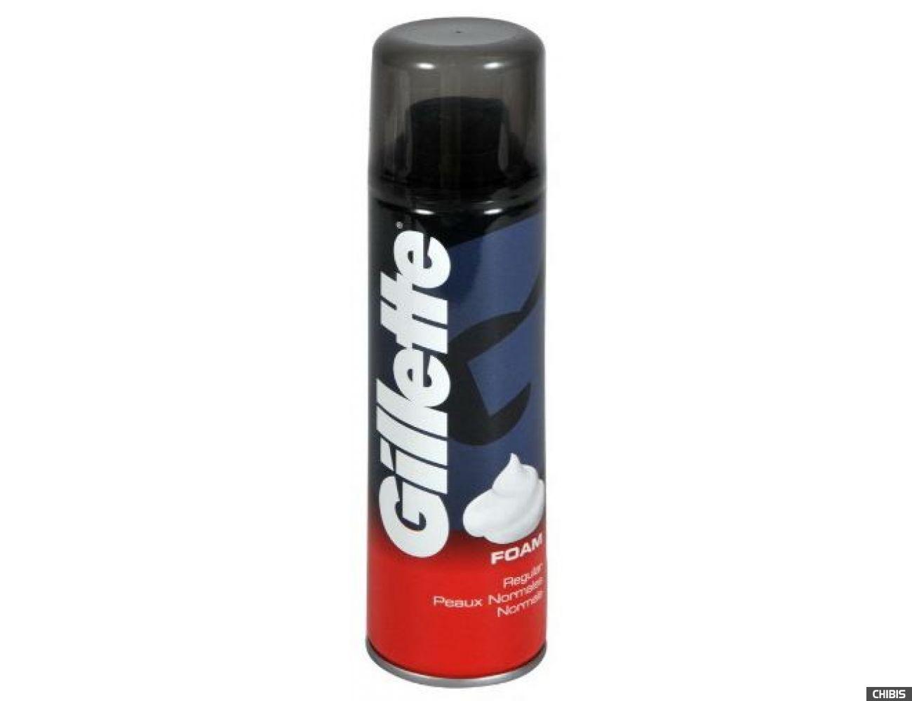 Gillette пена для бритья Regular 200 мл.