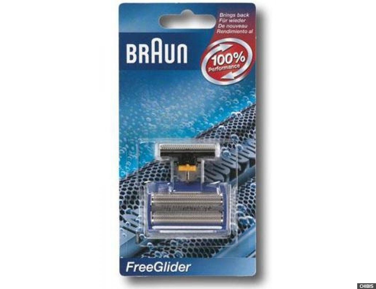 Сетка и режущий блок Braun 6600 FreeGlider (5710761) 4210201300328