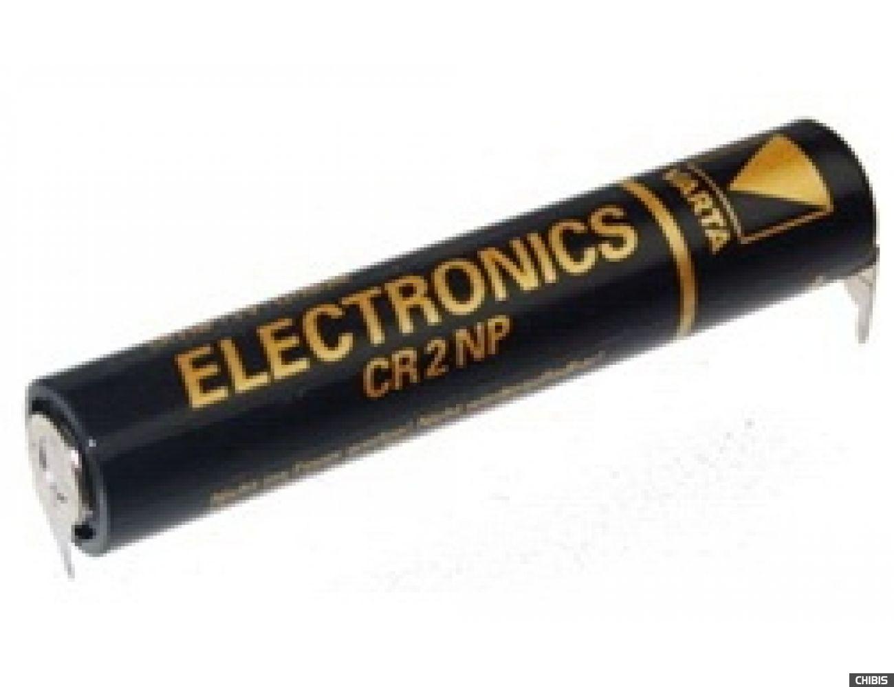 Батарейка Varta CR-2NP Professional Electronics (CR11108, 1400mAh, 3V, Литиевая) 06202101401