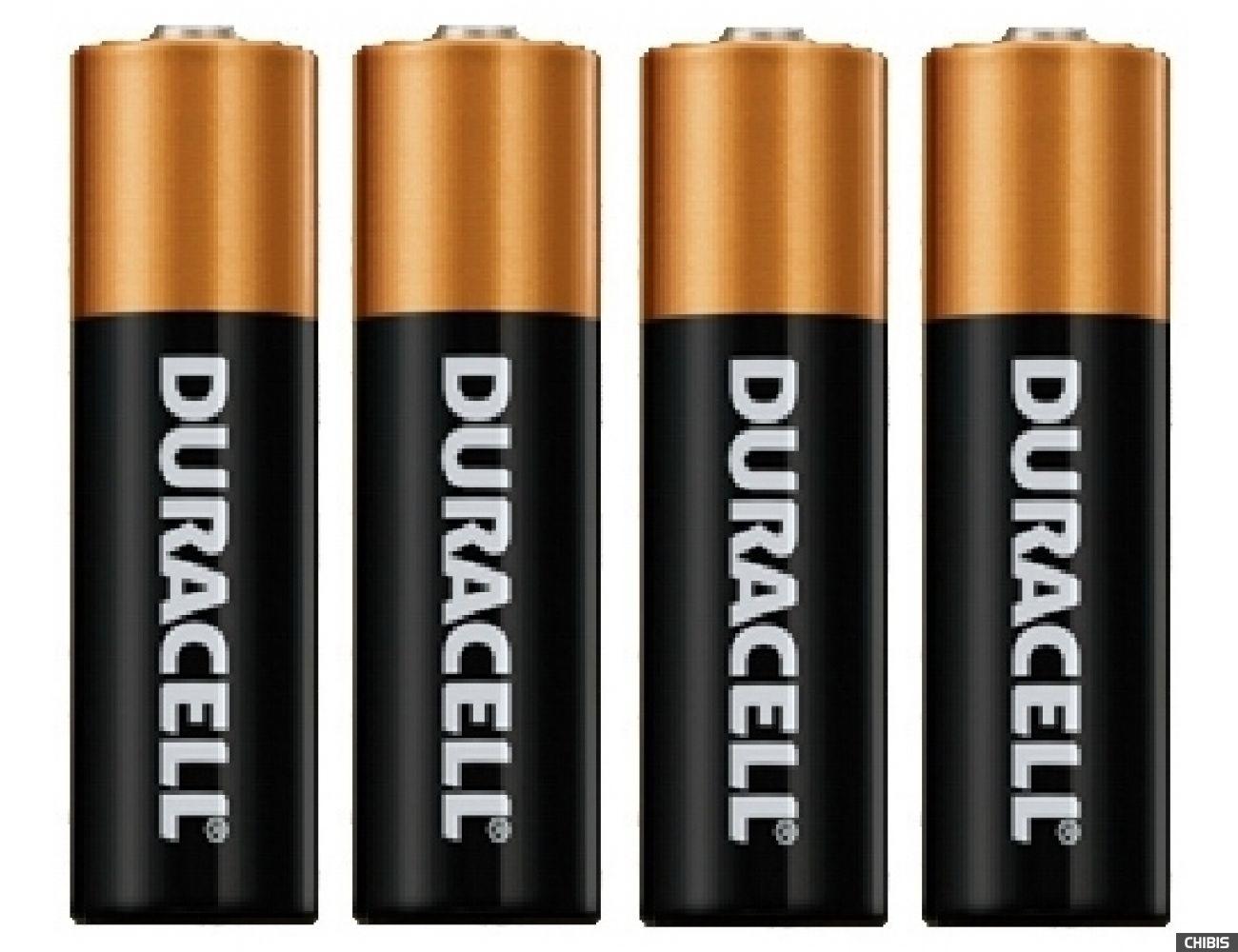 Батарейки типа АА Duracell Basic (LR06, 1.5V, Alkaline  Щелочная) 4/4 шт.